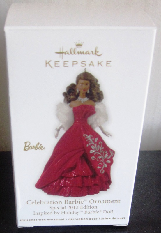 Hallmark Keepsake Celebration Barbie Ornament 2012