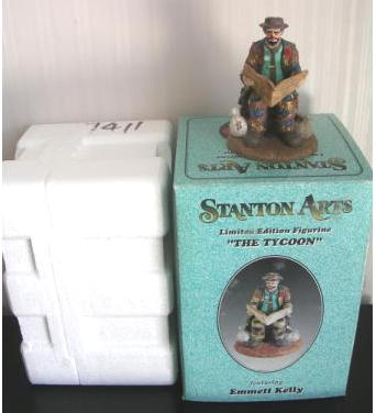 Emmett Kelly Big Business Stanton Arts L E