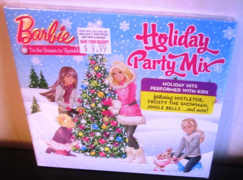 Barbie Tis the Season To Sparkle Holiday Party Mix CD