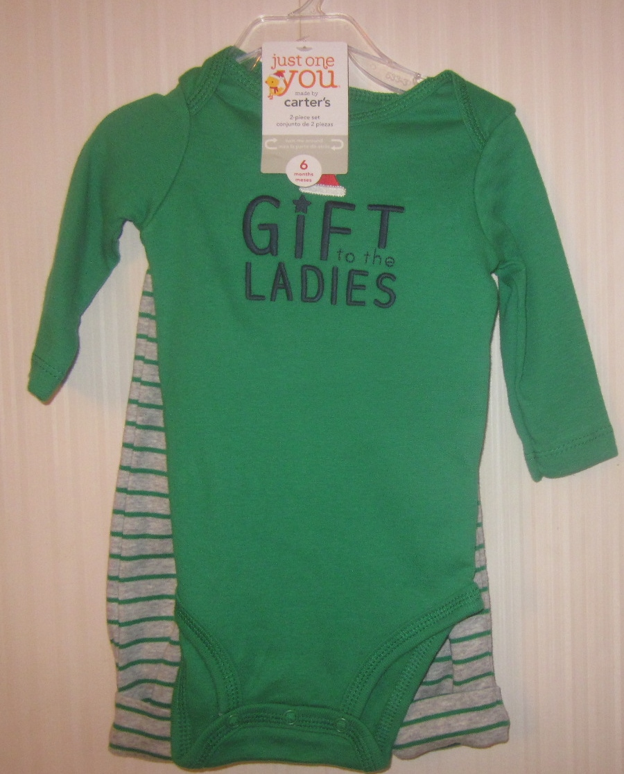 Just One You 2 Piece Crawler Set Gift to the Ladies 3 months