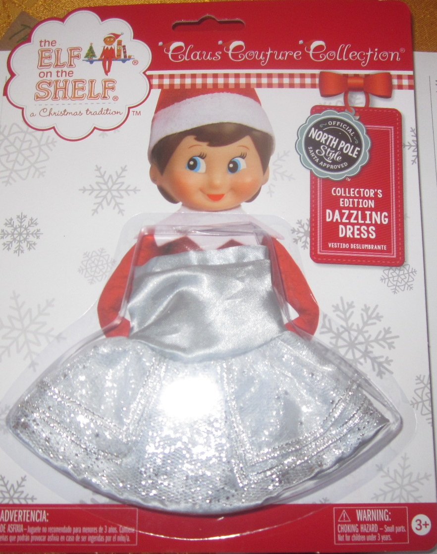 Elf On The Shelf Claus Couture Collection Dazzling Dress