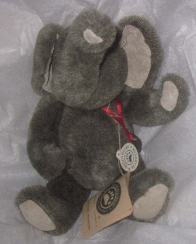 Boyds Bears Elephant Plush P. Gallery Trunkster