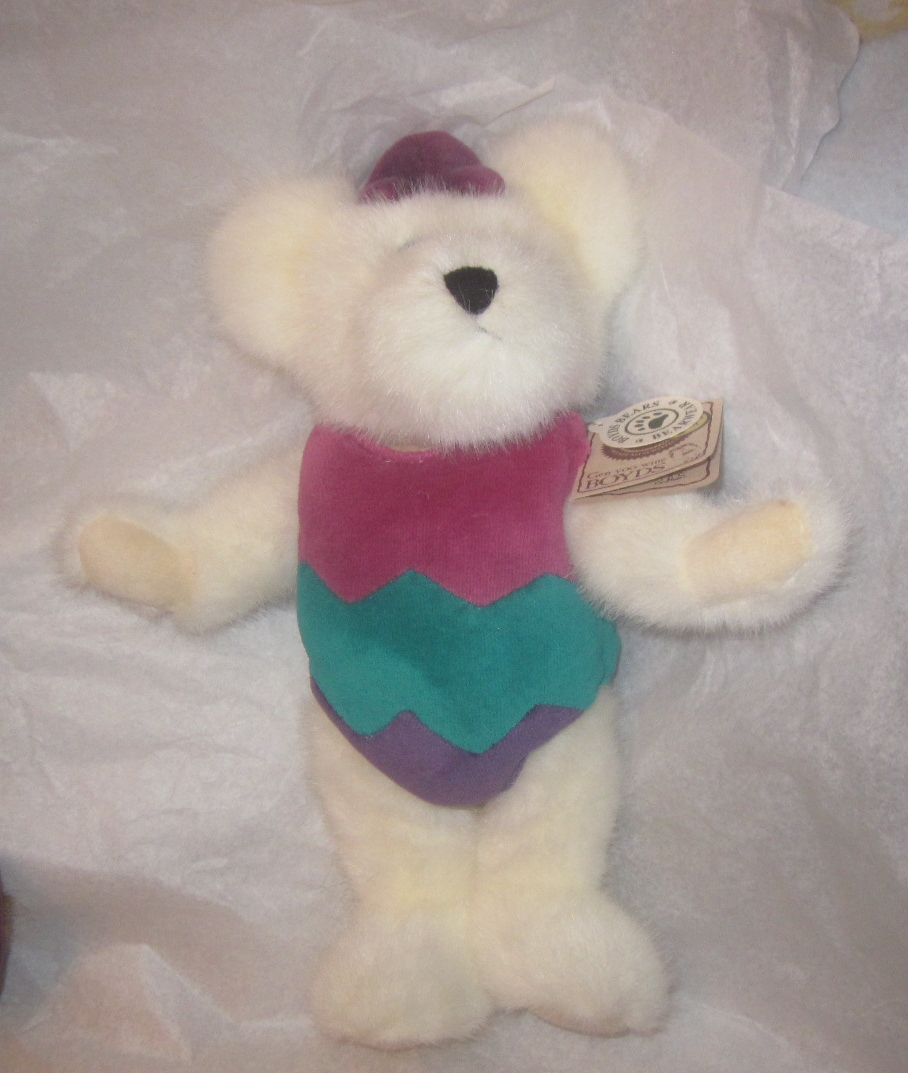 boyds bears Egbert Q Bearsford White Egg Bear