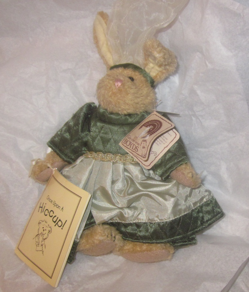Boyds Bears Emily Babbit Once Upon A Hiccup