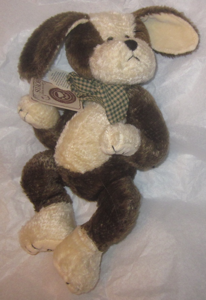 Boyds Bears Plush Puppy Dog Bowser Barksalot