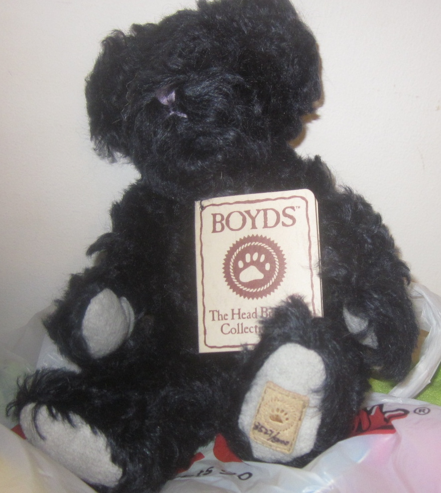 Boyds Bears Mohair Blueberry