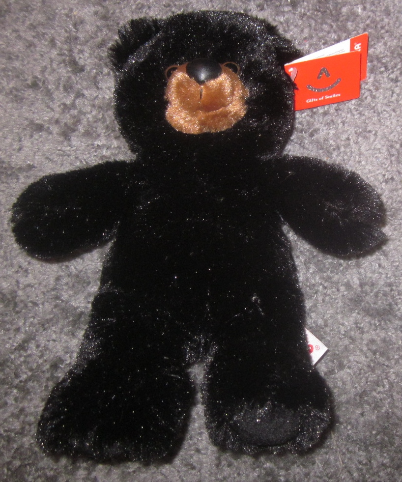 Aurora Black Bear Plush Stuffed