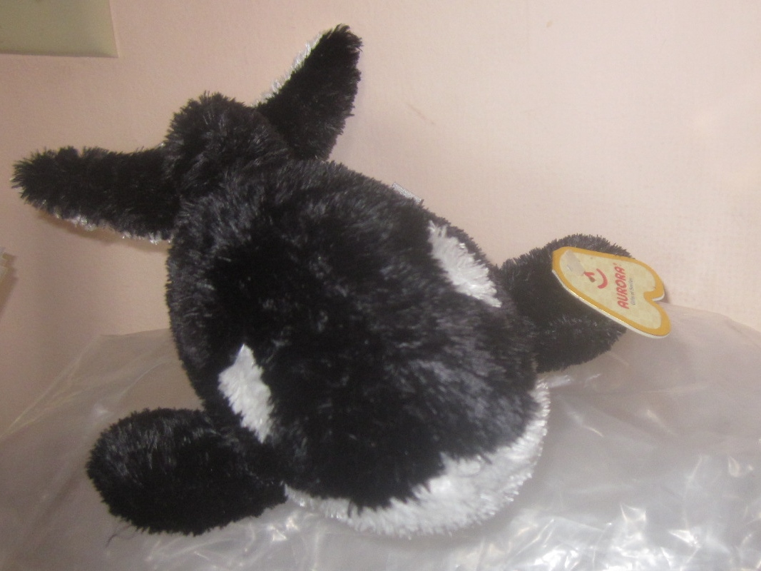 Aurora Stuffed Plush Orca Whale