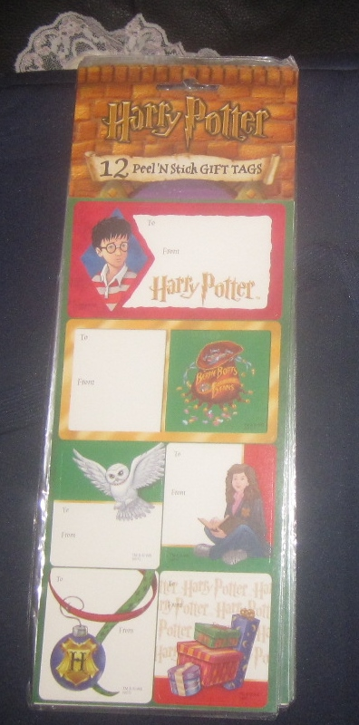 Harry Potter Peel N Stick Gift Tags