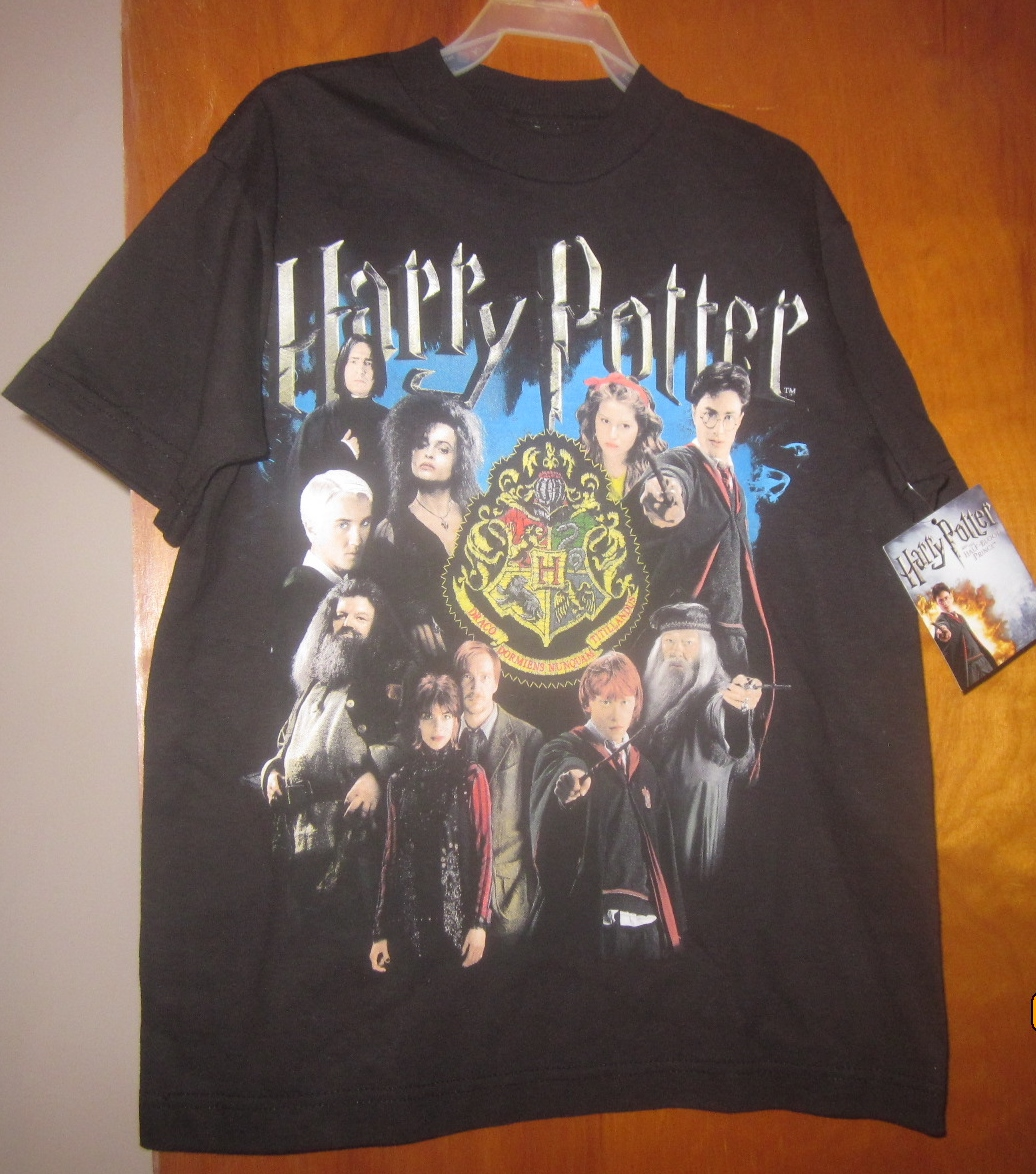 Harry Potter and Half Blood Prince Youth Kids T Shirt Medium