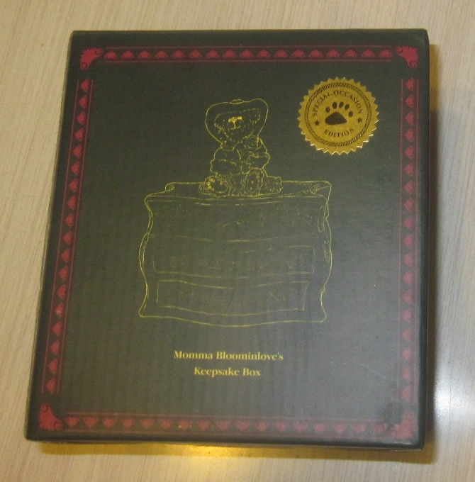 Boyds Bears Momma Bloominlove's Keepsake Box