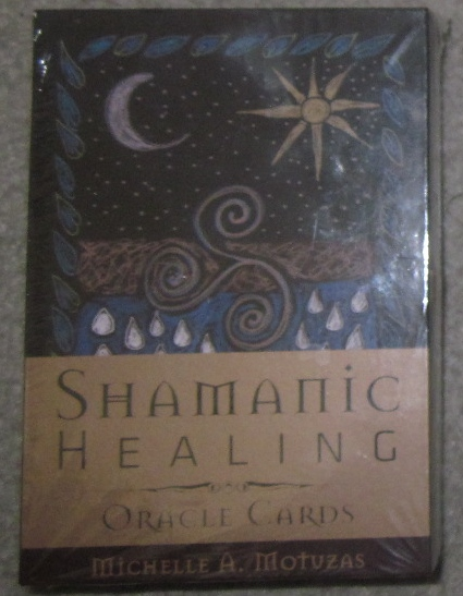 Shamanic Healing Oracle Cards by Michelle A. Motvzas