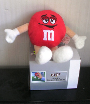 Red M&M Computer Screen Cleaner