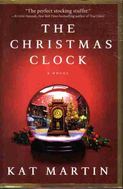 The Christmas Clock by Kat Martin hardback