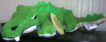 Skm Stuffed Plush Alligator Crocodile Sound Noise #49017