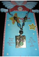 Angels of the Zodiac Jewelry Aquarius Necklace/Locket