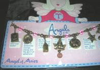 Angels of the Zodiac Jewelry Aries Charm Bracelet