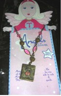 Angels of the Zodiac Jewelry Aries Necklace Locket