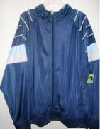 Athletech Mens Zippered Nylon Jacket XLarge XL