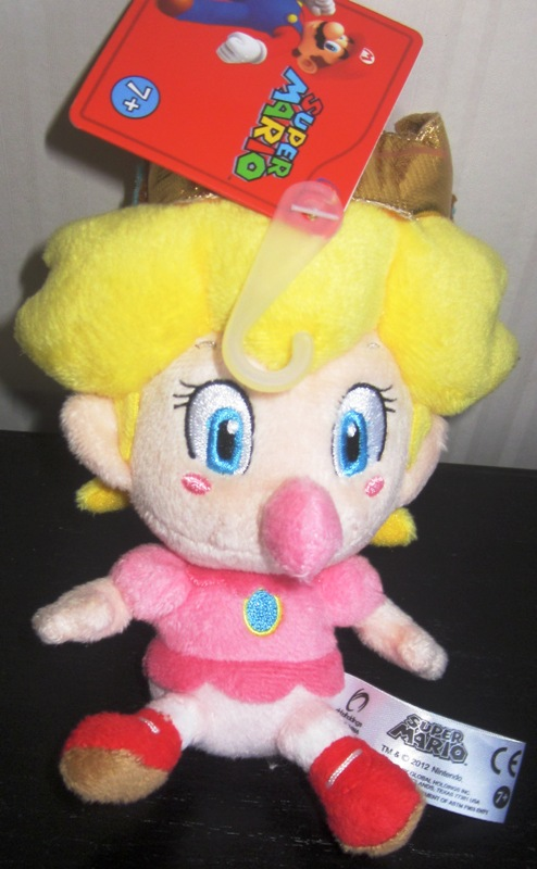 Super Mario Baby Peach Plush Global Max
