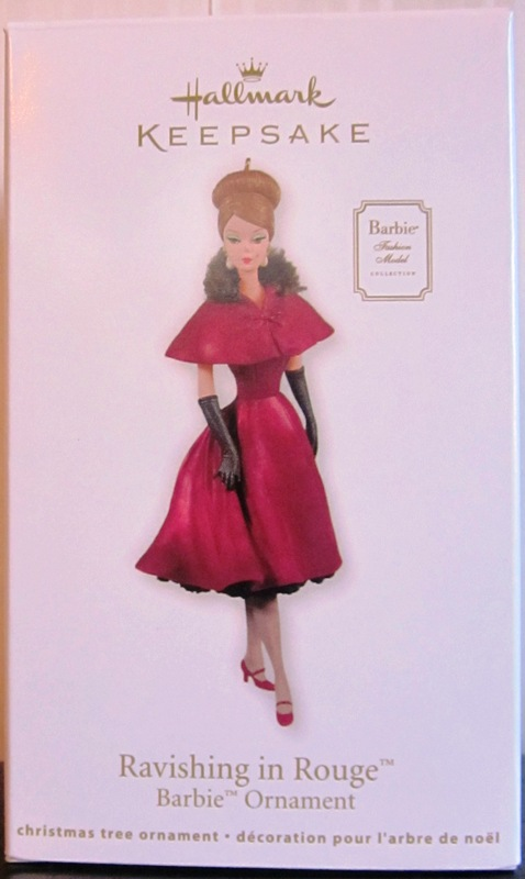 Hallmark Keepsake Ravishing In Rouge Barbie Ornament