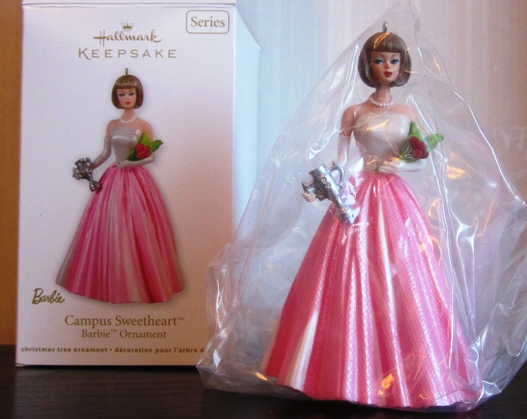 Hallmark Keepsake Campus Sweetheart Barbie Ornament