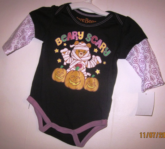 Care Bears Halloween Onepiece Creeper Snaps Beary Scary 3 Months