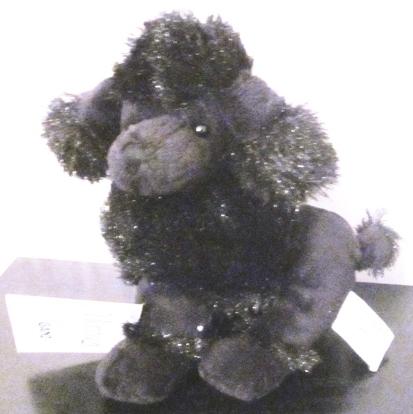 Heritage Collection Black Poodle Oodles of Poodles H5994