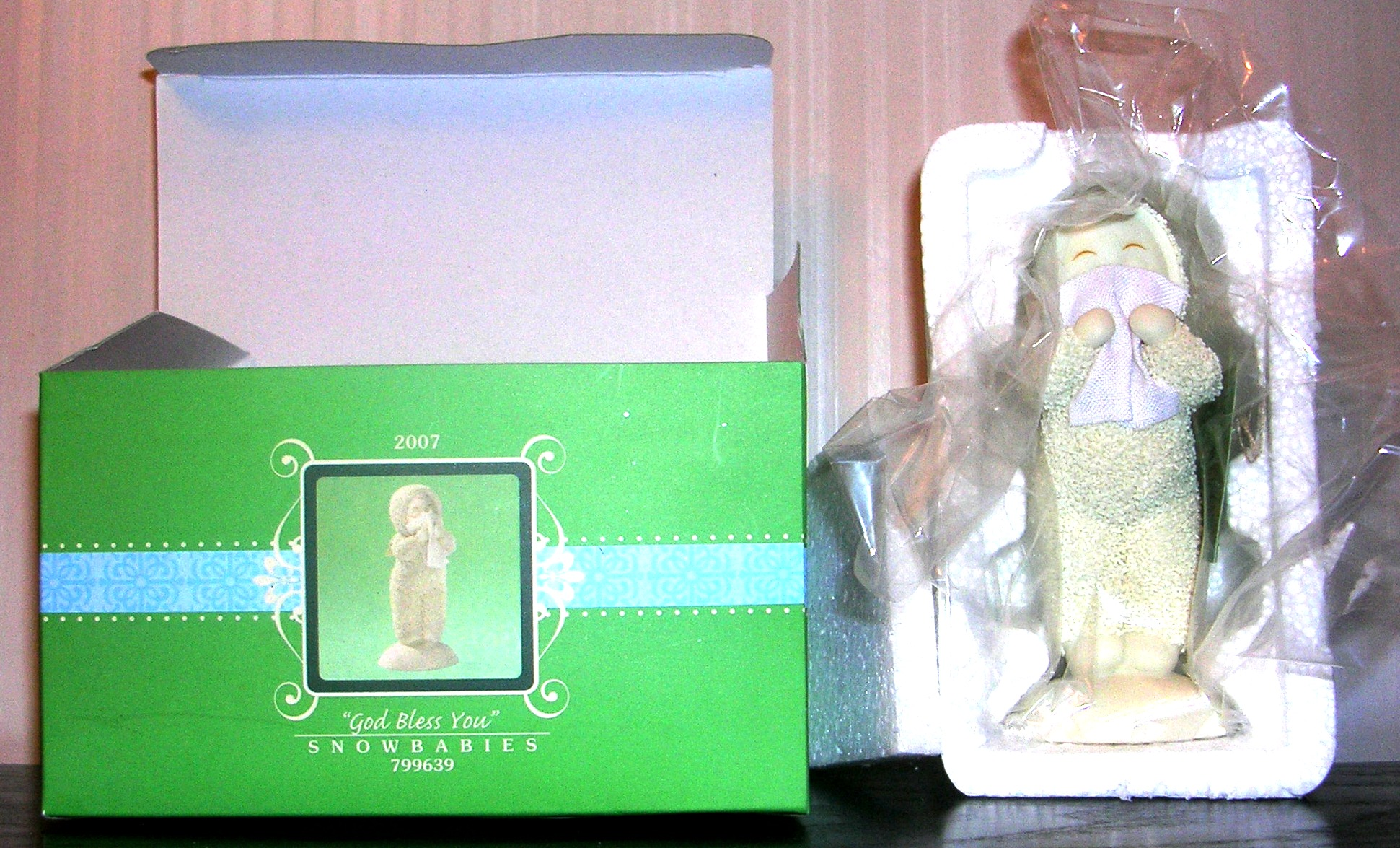 Snowbabies Dept 56 God Bless You 2007 799639