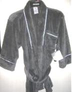 Boys Bathrobe Grey Gray Robe Joe Boxer Size 4 5