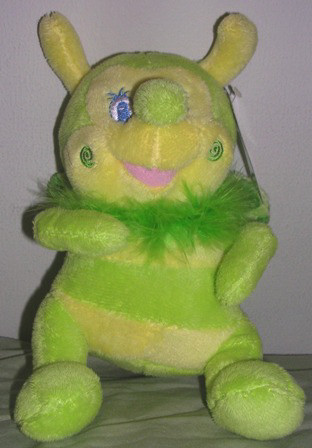 Chinda Plush Stuffed Bumble Bee Green