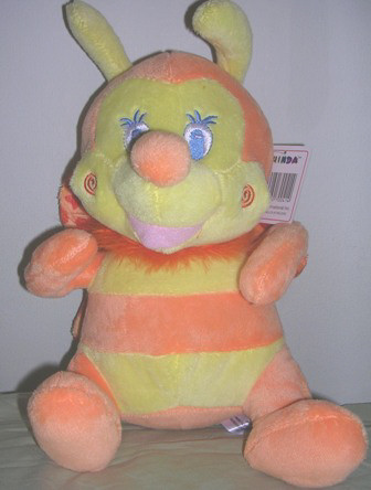 Chinda Plush Stuffed Bumble Bee Orange
