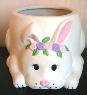 Bunny Flower Pot New