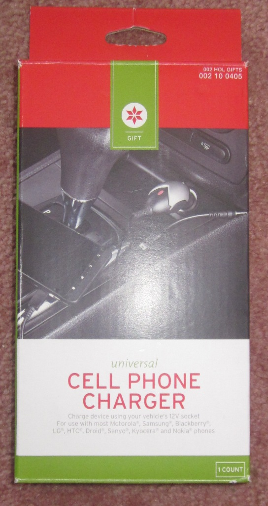 Universal Car Cell Phone Charger Motorola Samsung Blackberry