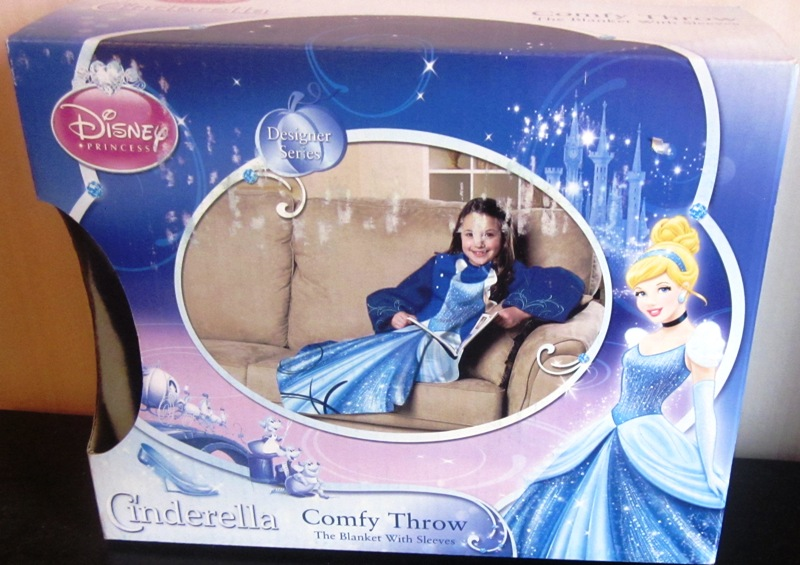 Disney Cinderella Comfy Throw Blanket with Sleeves Northwest