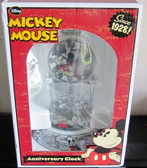 Anniversary Clock Disney Mickey Mouse