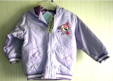 Disney Baby Girls Purple Jacket Minnie Mouse 24 Months