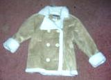 Girls Coat Route 66 Brown Tan Size 6 6X