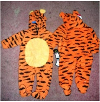 Tiger Costume 6m 6 Months One Piece