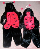 Ladybug Costume Petables Medium
