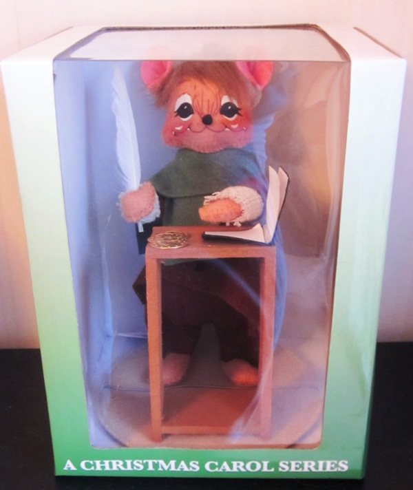 Annalee Storybook Mice Macy's Counting Bob Cratchet