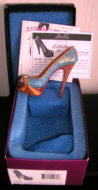 Just The Right Shoe by Raine Dallas Signed 805567 JTRS