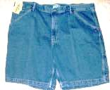 Denim Shorts Mens Route 66 Size 46W