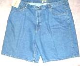 Denim Shorts Mens 46W Route 66 Size