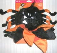 Dog Pet Costume Spider Outfit XSmall