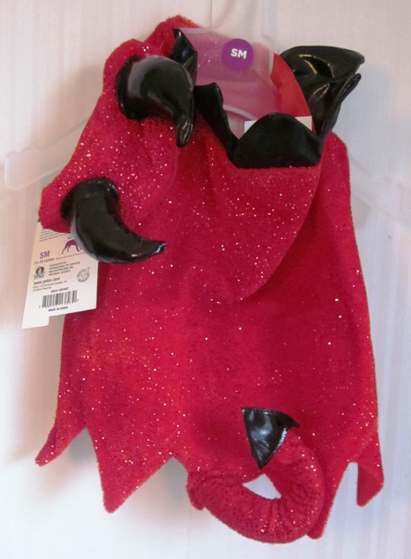 Dog Devil Costume Small