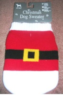 Christmas Dog Sweater Santa Claus xsmall