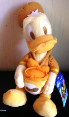 Disney Sega Donald Duck Plush Stuffed Flavor of the Month Yellow