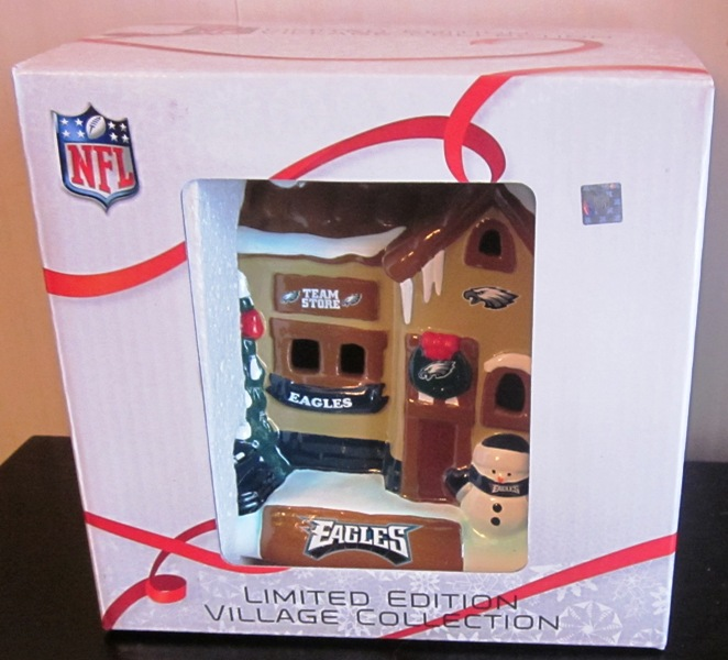 Philadelphia Eagles NFL Limited Edition Village Collection House