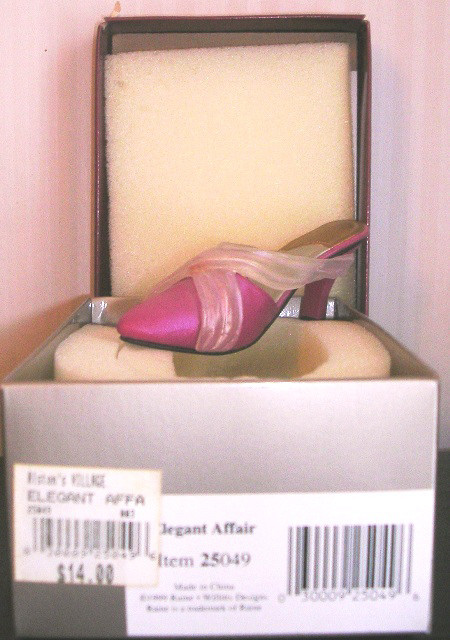 Just The Right Shoe by Raine Elegant Affair 25049 JTRS